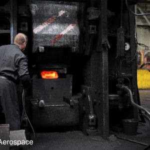 Forging components using our 12,500 tonne Beche