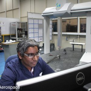 Checking precision using a Coordinate Measuring Machine (CMM)