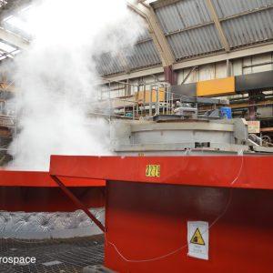 Onsite heat treatment facility