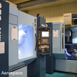 Two of our 5-axis machines in our extensive machining facility