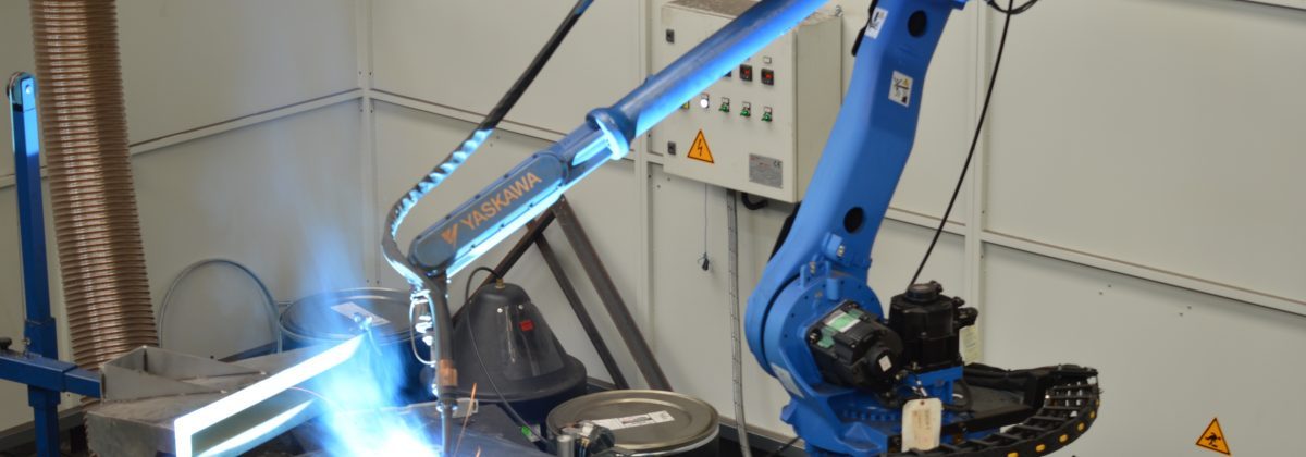 Latest robotic welding technology