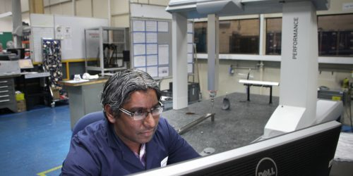 Operating a Coordinate Measuring Machine