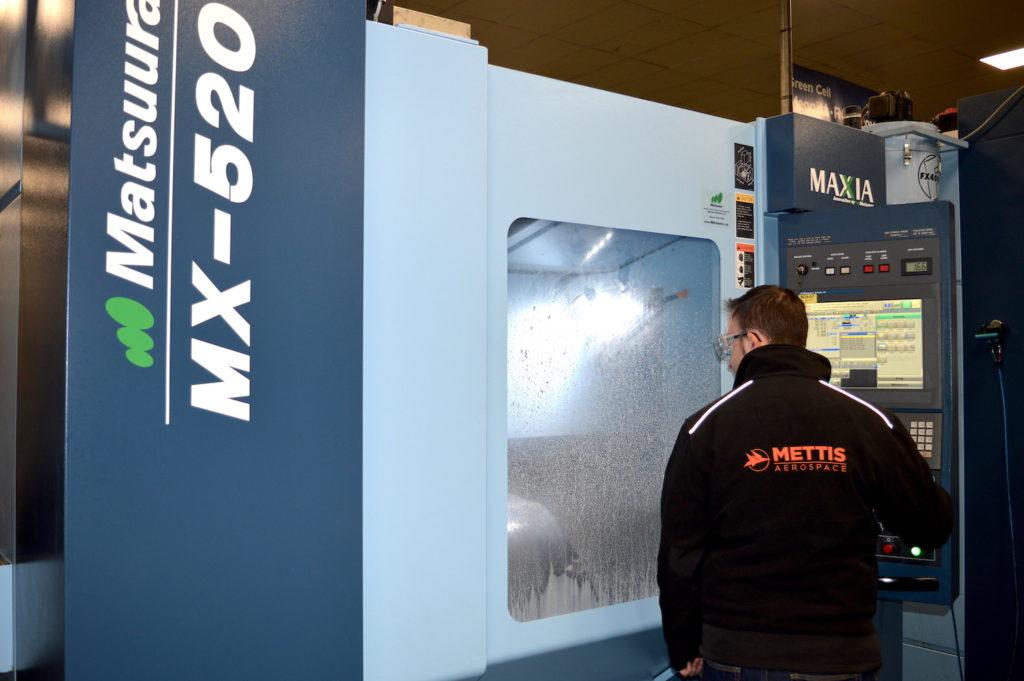 Aerospace forgings, machining