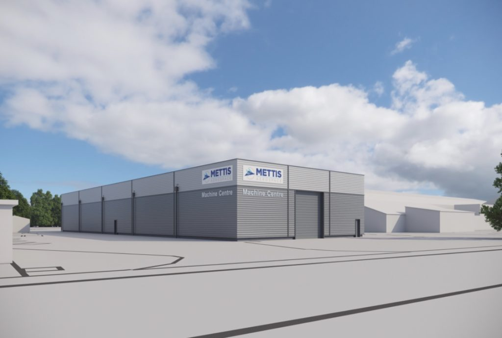 Aerospace forging, Machining centre