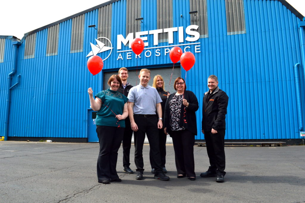 Mettis Aerospace partner charity, Birmingham Children's Hospital Charity