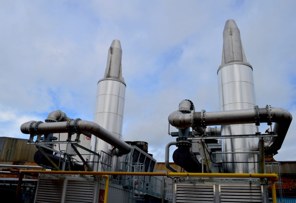 Combined Heat and Power Plant, CHP, Aerospace forging